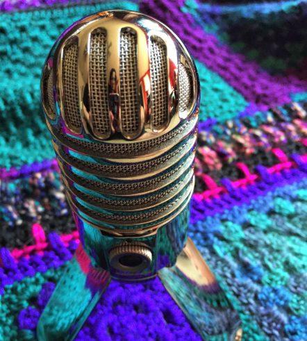 Artsy mic shot is artsy.